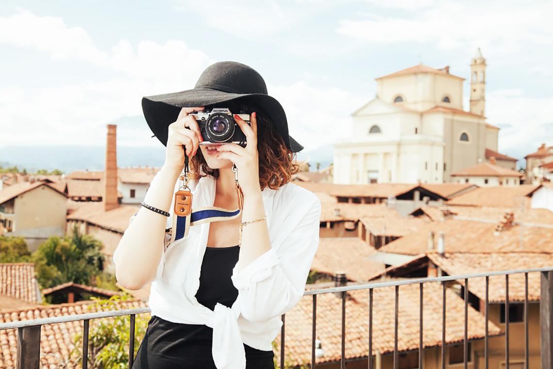 Žena sólo cestovateľka