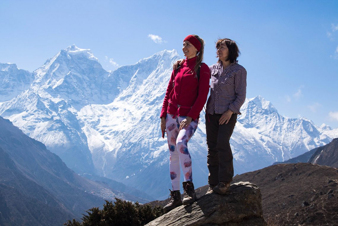Video: Gokyo Lakes Trek with my 62-year-old mother
