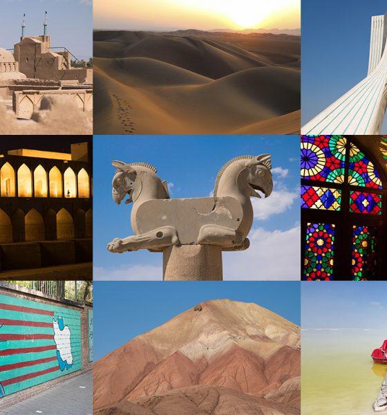 Top 15 miest v Iráne
