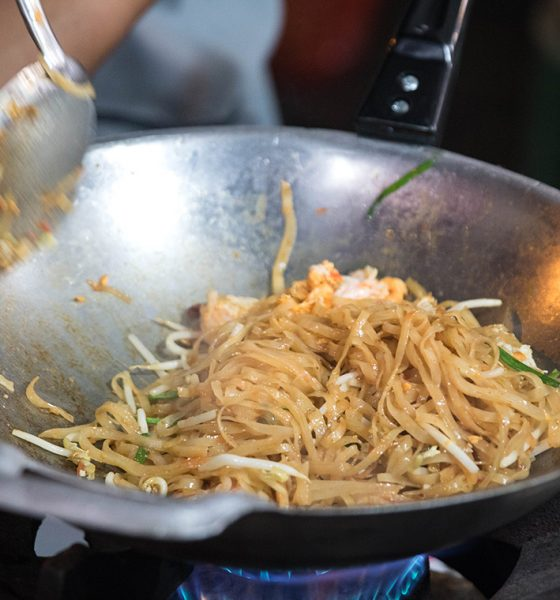 Kurz varenia v Thajsku + recept na pad thai