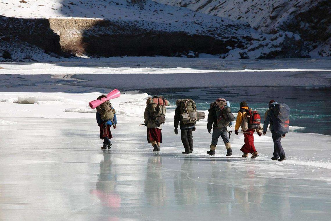 Pridajte sa na Chadar trek v indických Himalájach