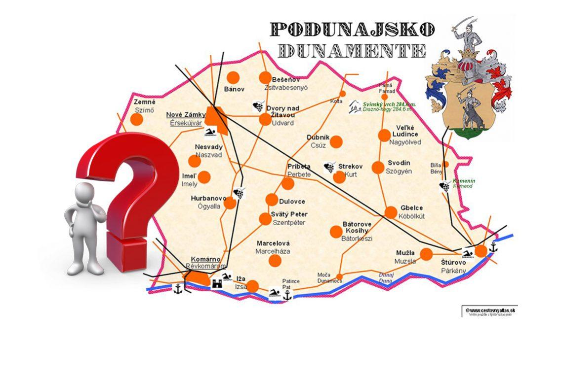 Podunajský kvíz: Otestujte sa z geografie