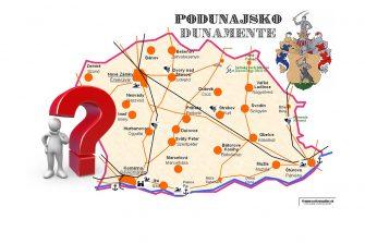podunajský kvíz geografia